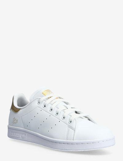 STAN SMITH W - sneakers med lav ankel - ftwwht/hemp/goldmt