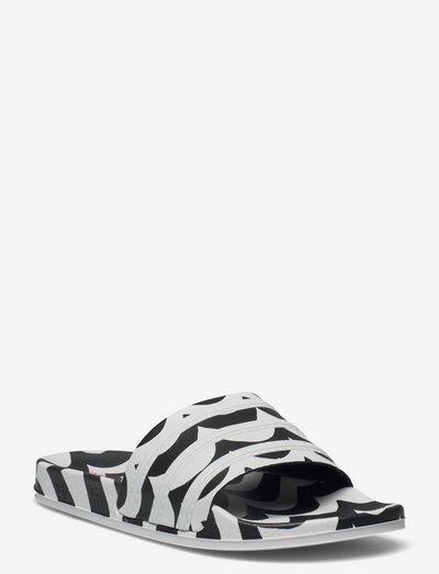 Marimekko Laine Adilette Slides W - shoes - cblack/ftwwht/terema