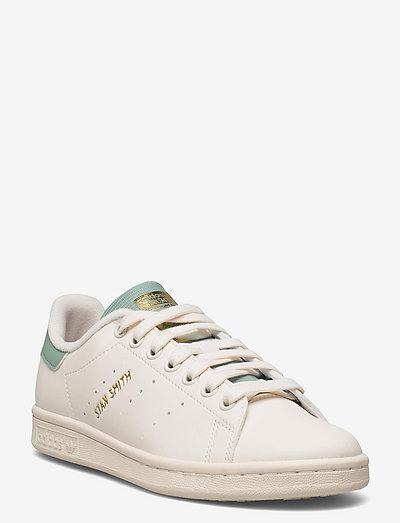 Stan Smith  W - low top sneakers - clowhi/owhite/hazgrn