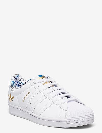 Superstar - låga sneakers - ftwwht/ftwwht/goldmt