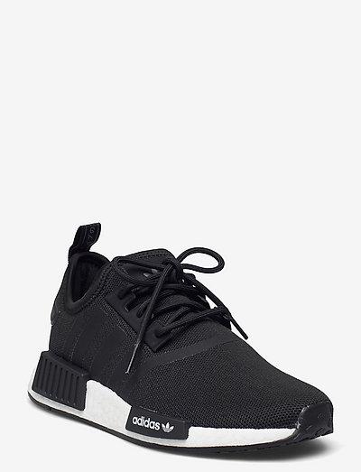 NMD_R1 Refined - lave sneakers - cblack/cblack/ftwwht