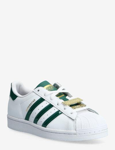 Superstar  W - sneakers med lav ankel - ftwwht/cgreen/magold