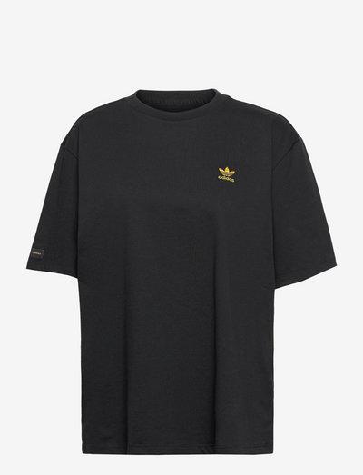 MARIMEKKO OVERSIZED TEE - t-skjorter - black