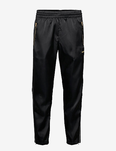 SATIN TRACK PANT - sweatpants - black/wonwhi