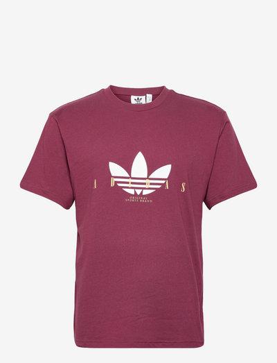 Trefoil Script Tee - t-shirts - viccri