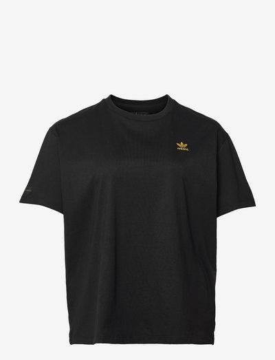 MARIMEKKO OVERSIZED TEE (Plus Size) - t-shirty - black