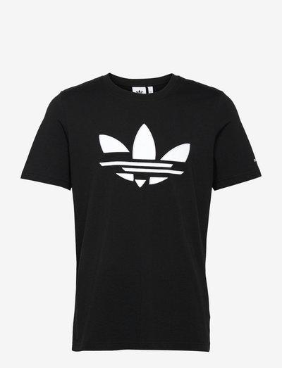 Adicolor Shattered Trefoil Tee - t-shirts - black/white