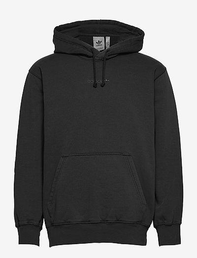 Dyed Hoodie - basic sweatshirts - black