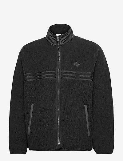 2000 Luxe Zip-Up Fleece Jacket - mid layer jackets - black