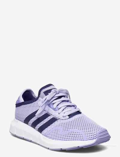 SWIFT RUN X J - lave sneakers - vioton/ngtsky/lpurpl