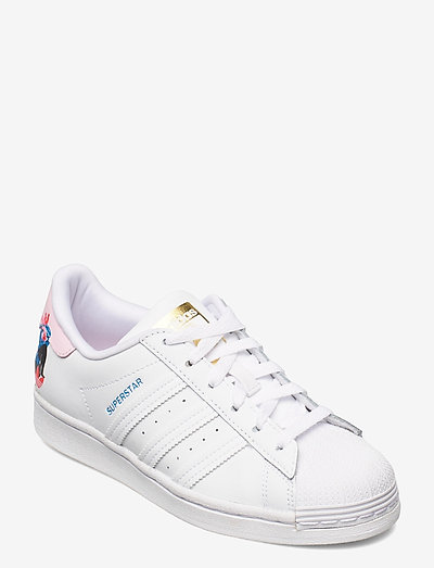 EGLE SUPERSTAR W - lage sneakers - ftwwht/ftwwht/clpink