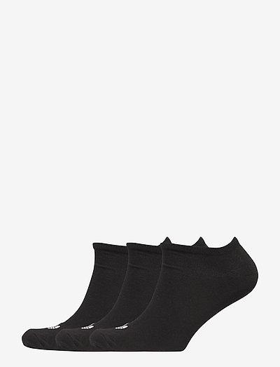 TREFOIL LINER - ankelstrumpor - black/black/white