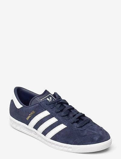 HAMBURG - låga sneakers - conavy/ftwwht/goldmt