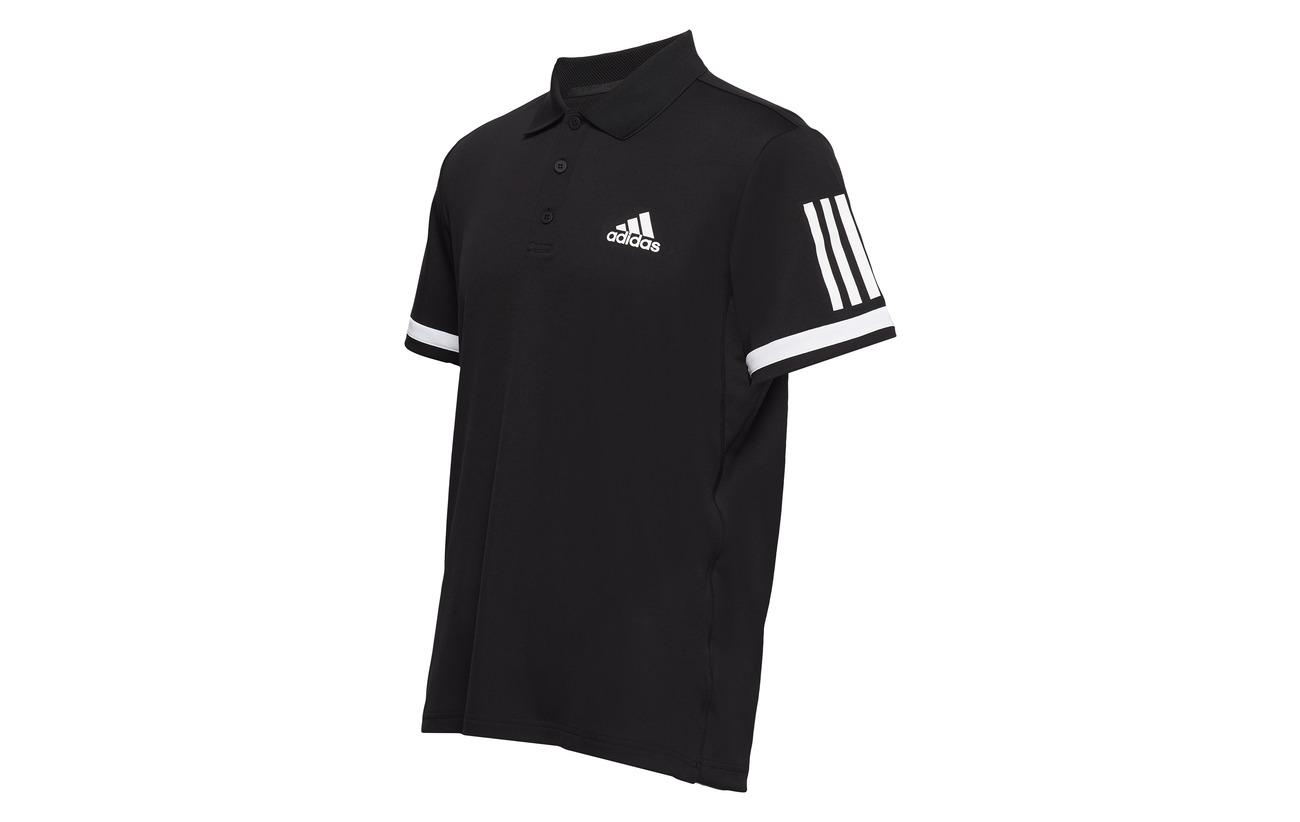 Club Black Polo Stripes 3 Tennis Adidas gwpq4fx5nC
