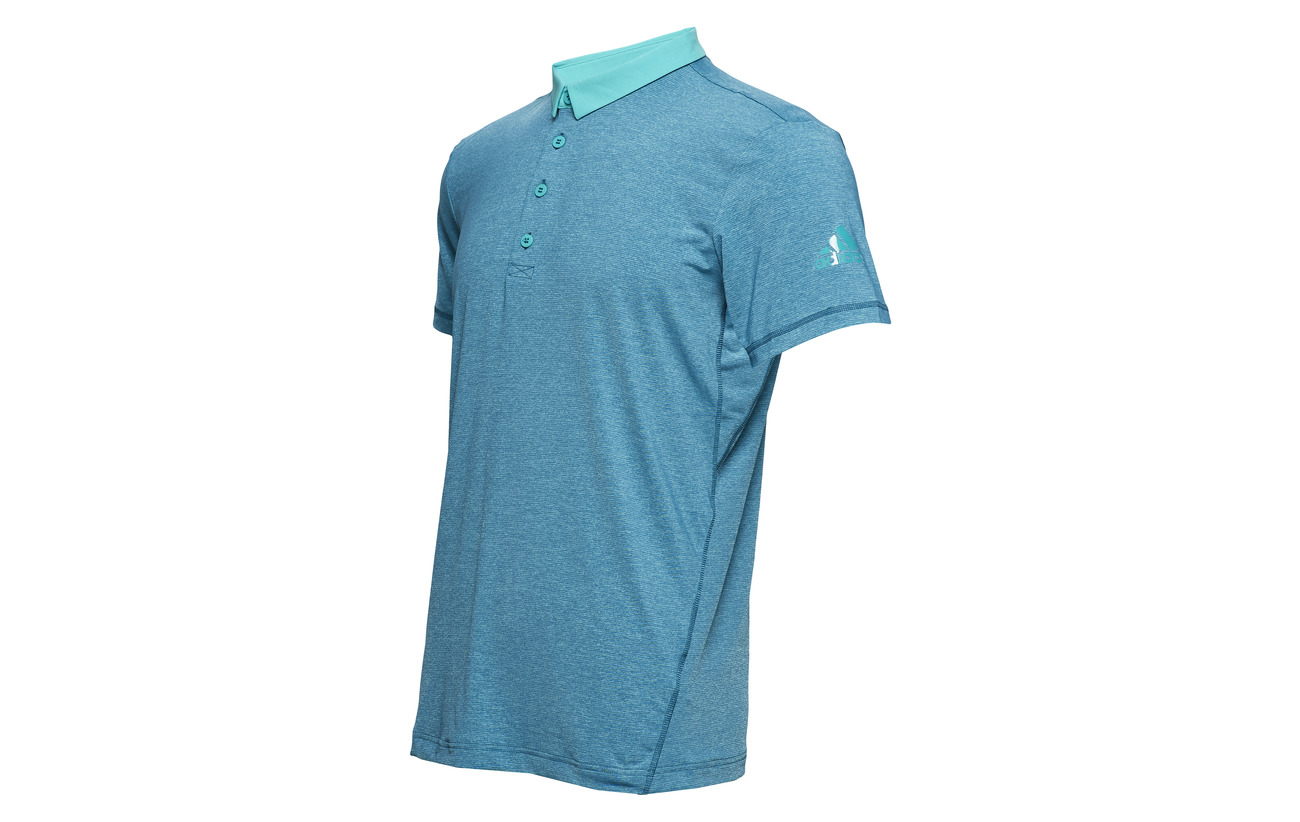 Tennis Adidas Heathered Polo Aqua Tennis Adidas p1qxq7wvO