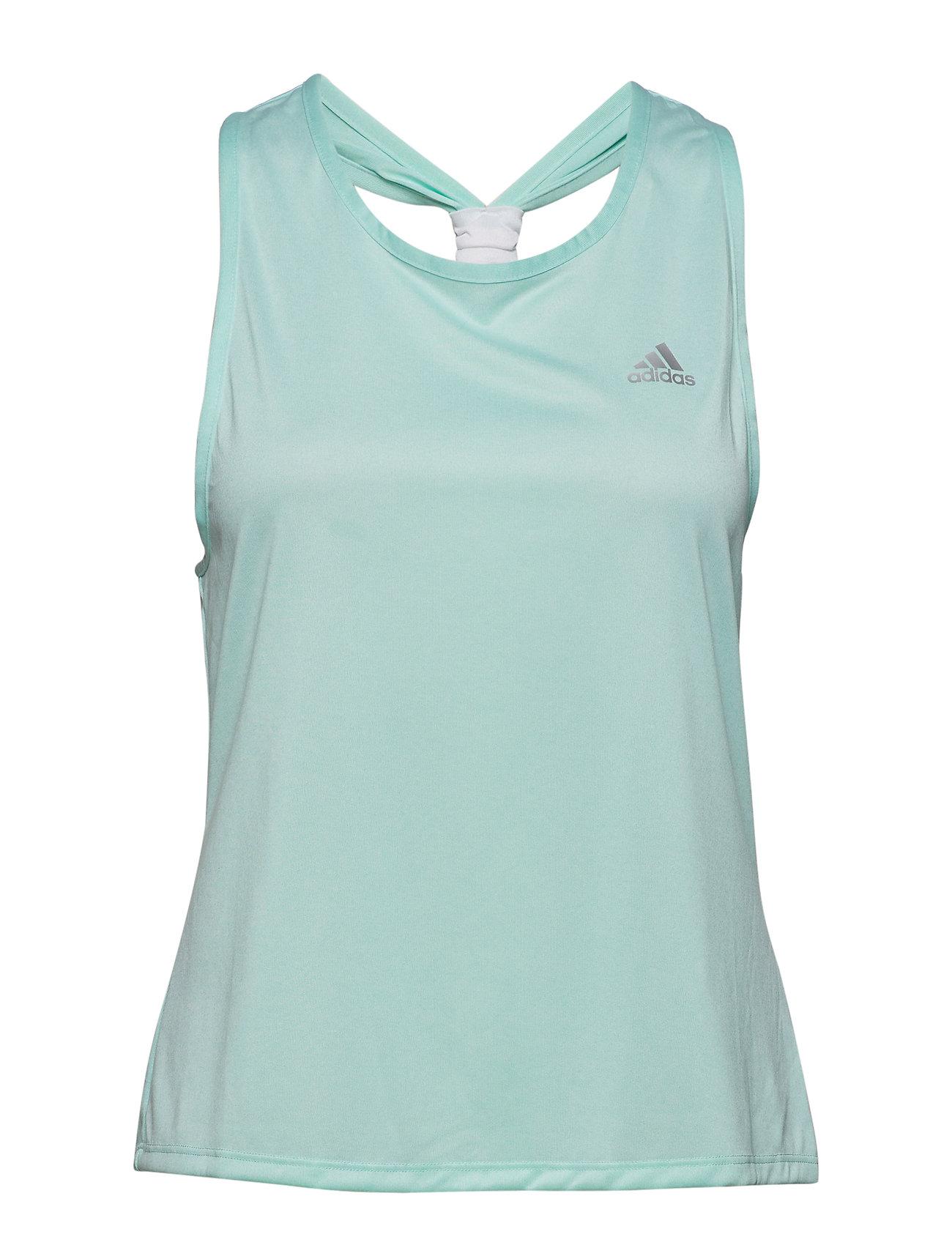 adidas Tennis CLUB TIEBACK TANK W - GREEN