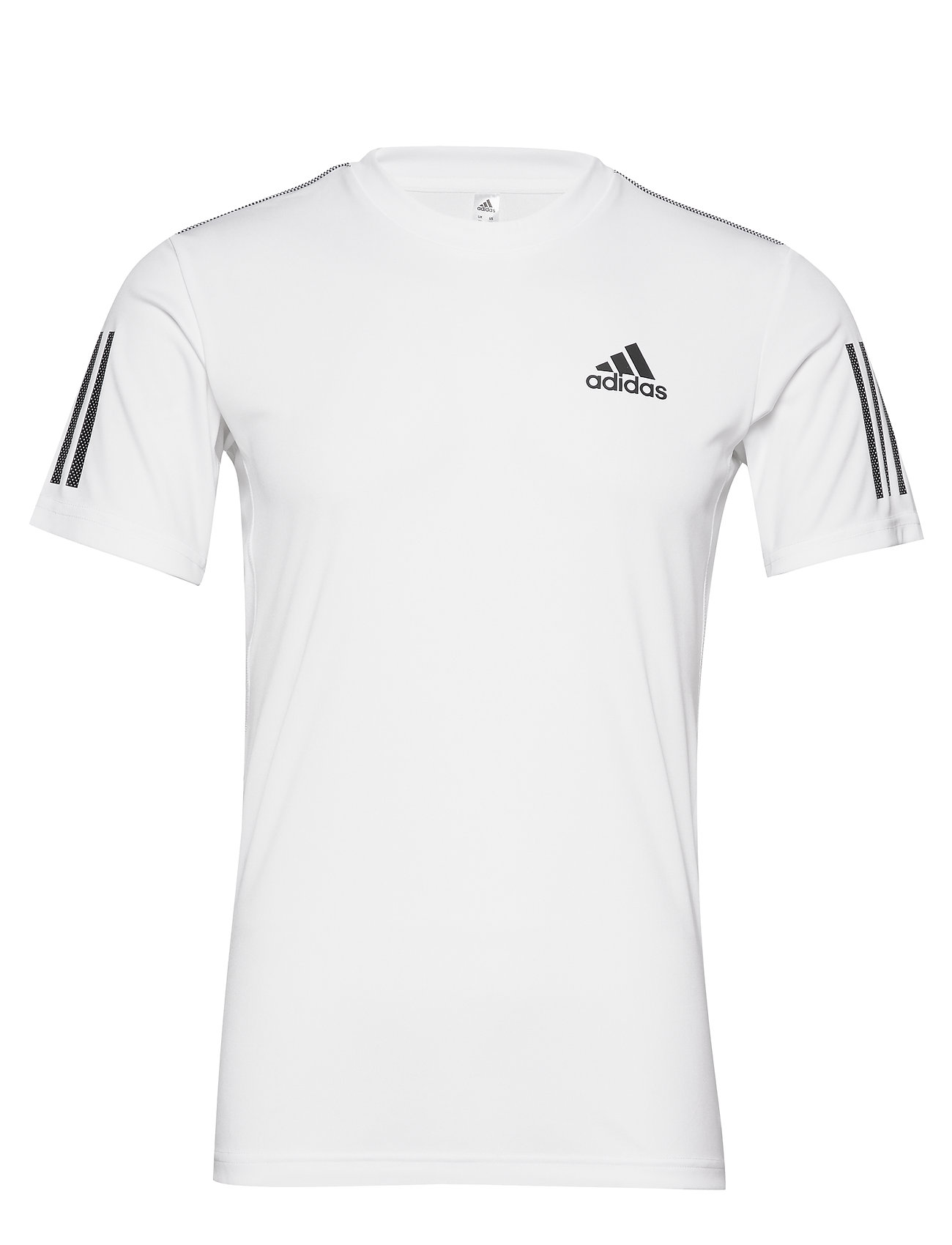 adidas Tennis CLUB 3 STRIPES TEE M - WHITE