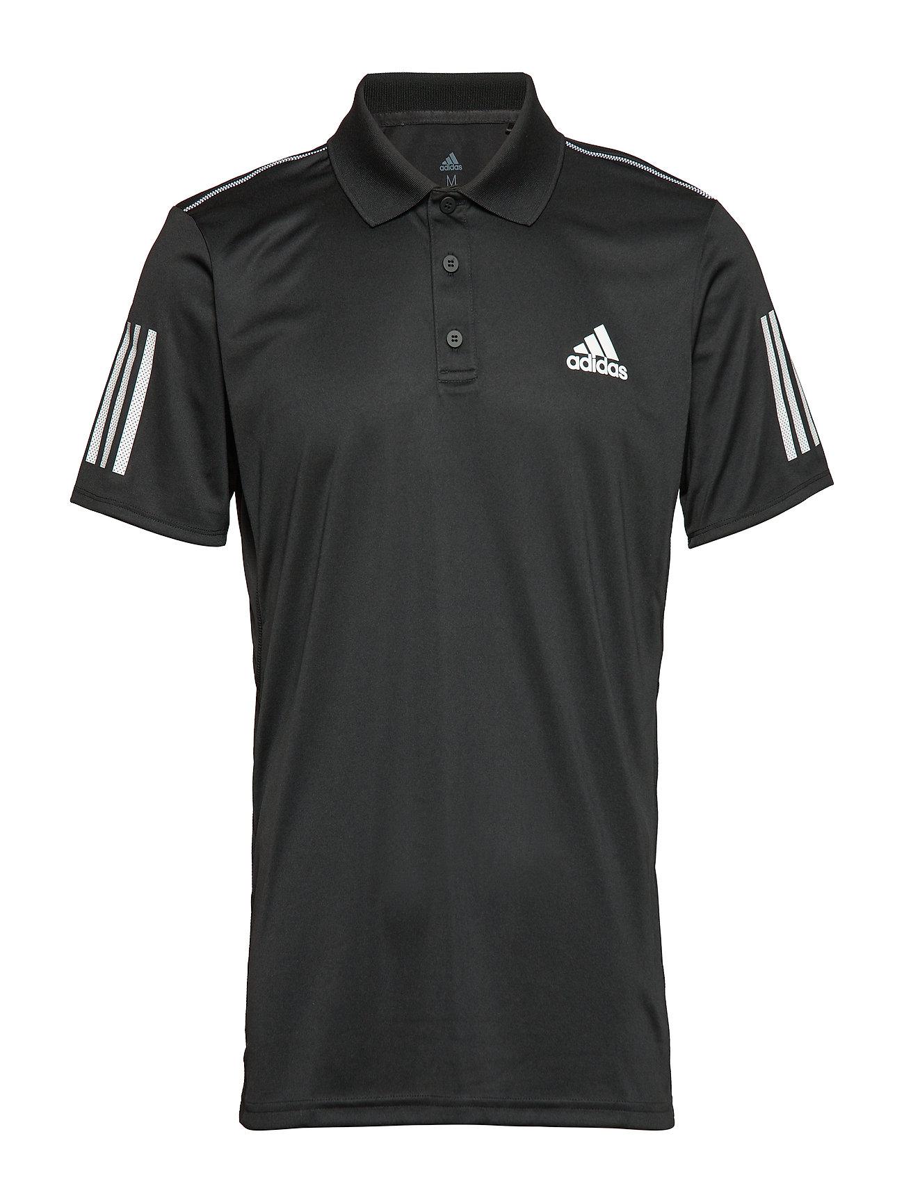 adidas Tennis CLUB 3 STRIPES POLO M - BLACK