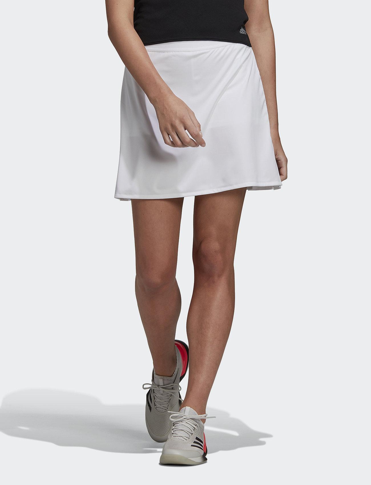 adidas Performance - CLUB LONG SKIRT W - white - 0