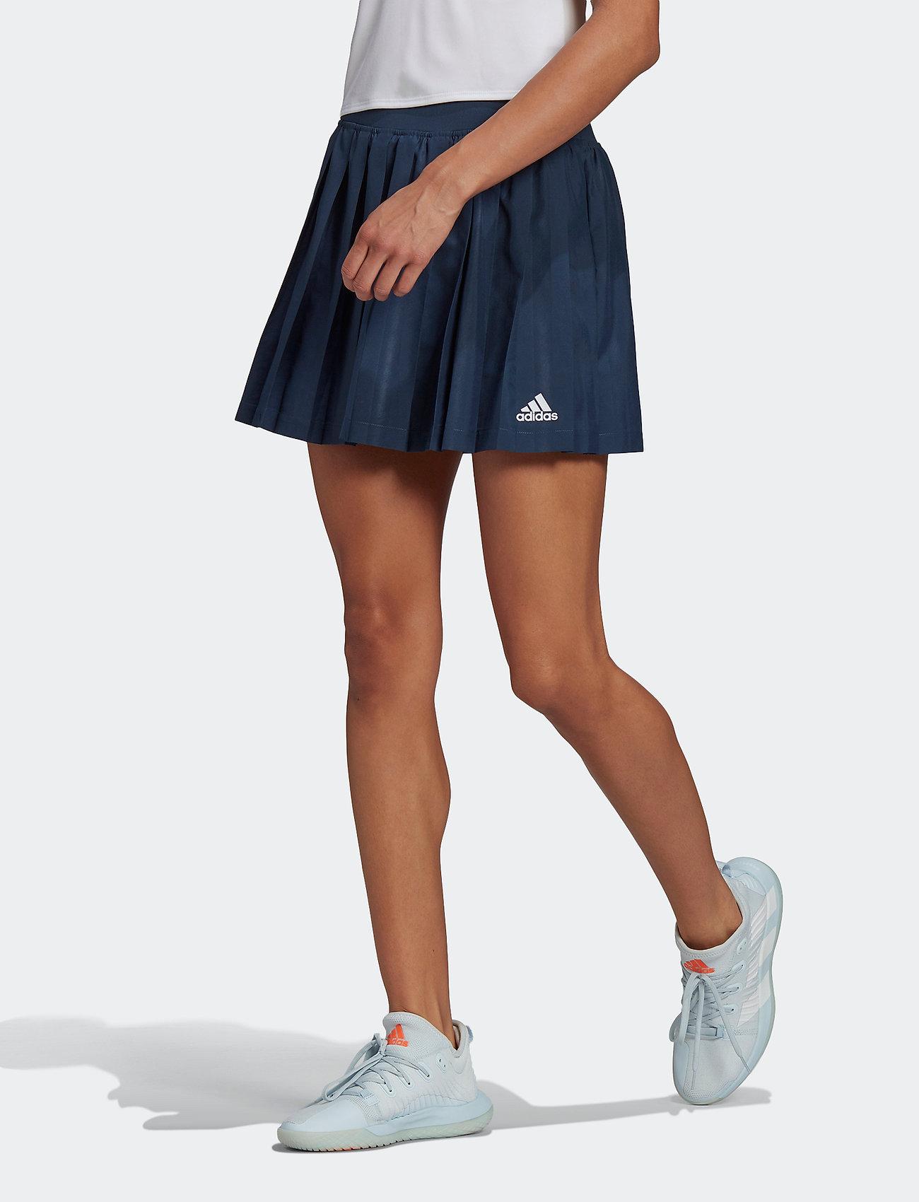 adidas Performance - Club Tennis Pleated Skirt - rokjes - navy - 0