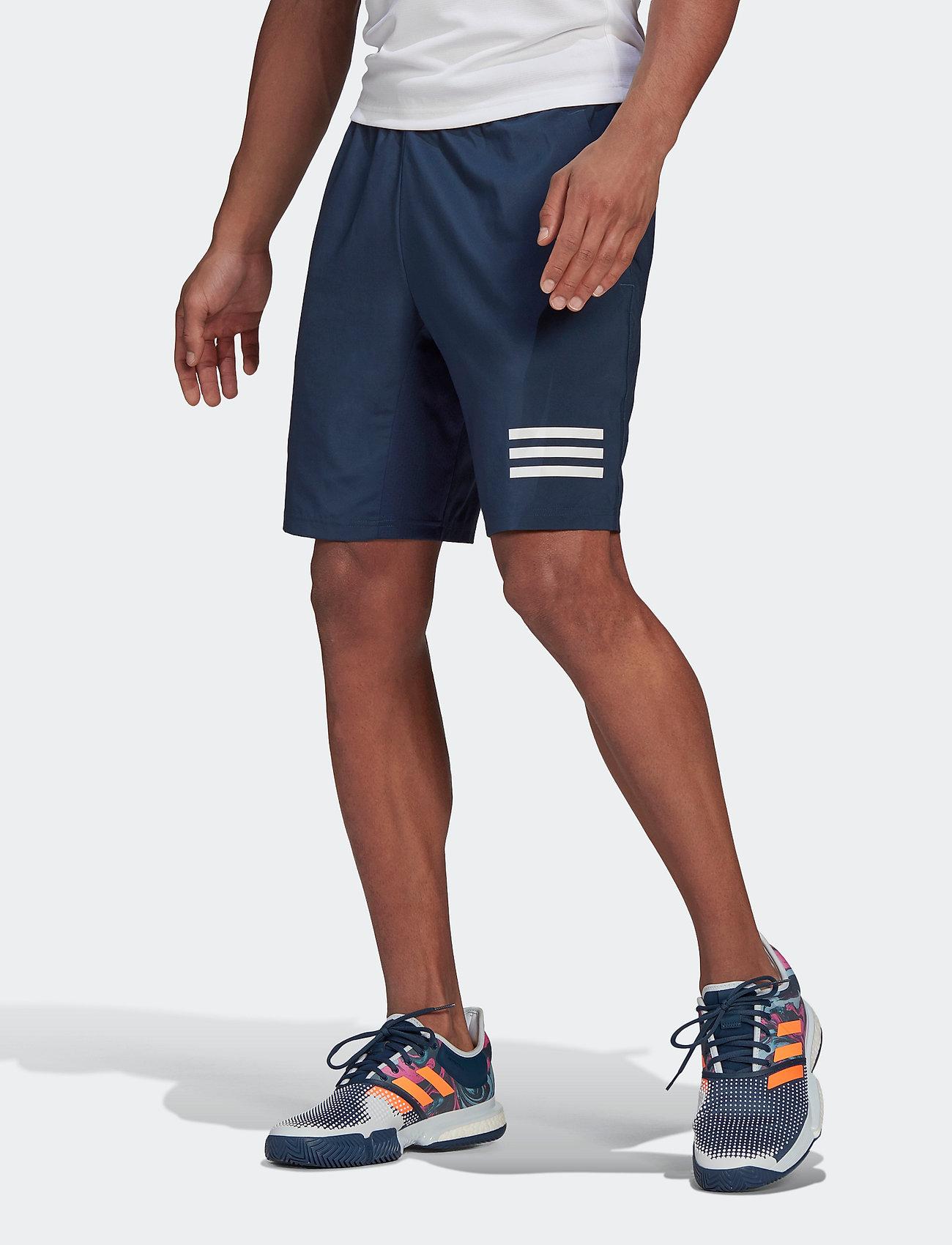adidas Performance - CLUB 3-STRIPE SHORTS - training korte broek - navy - 0