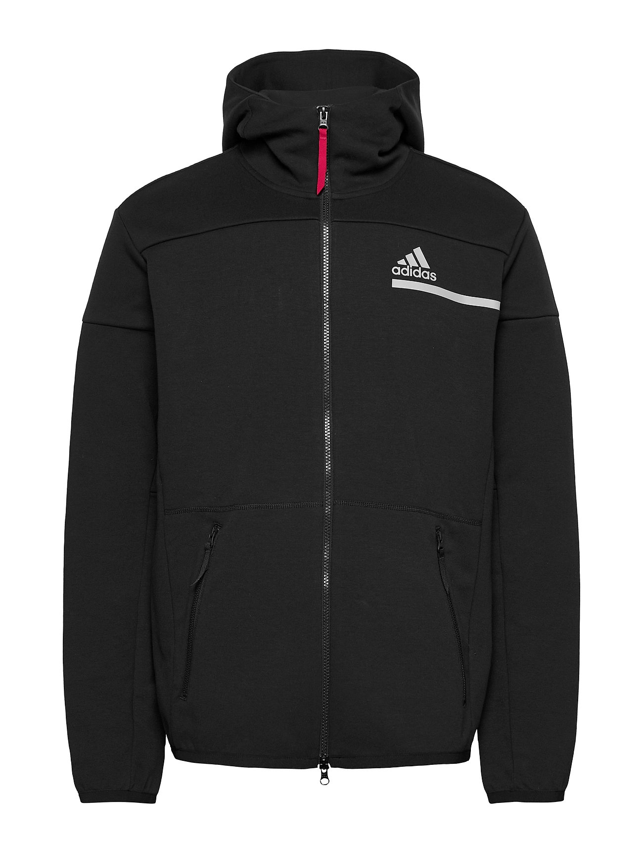 Image of Mens Tennis Zne Hoodie Hoodie Trøje Sort Adidas Performance (3455971391)