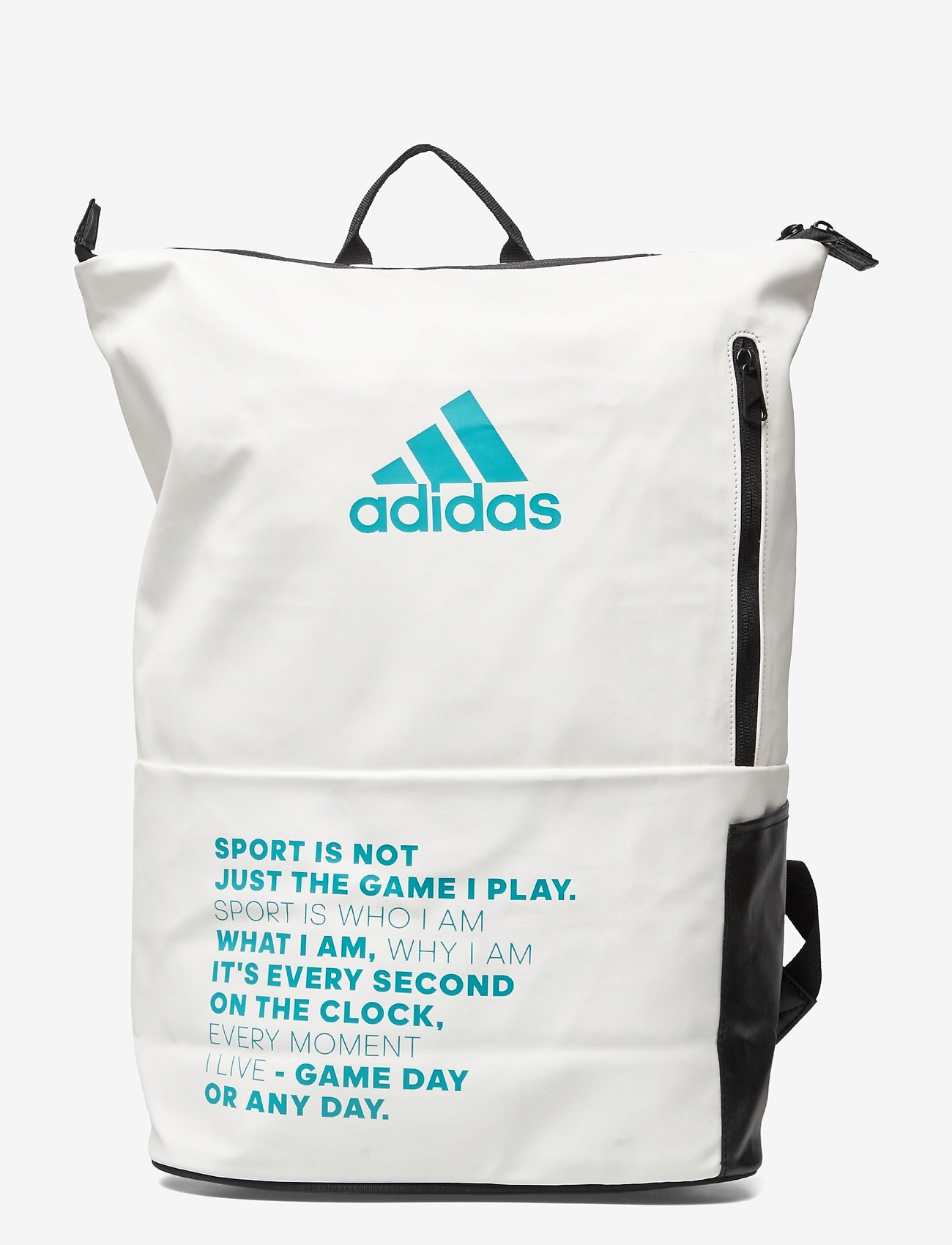 adidas Performance - Backpack MULTIGAME - racketsporttassen - white - 0