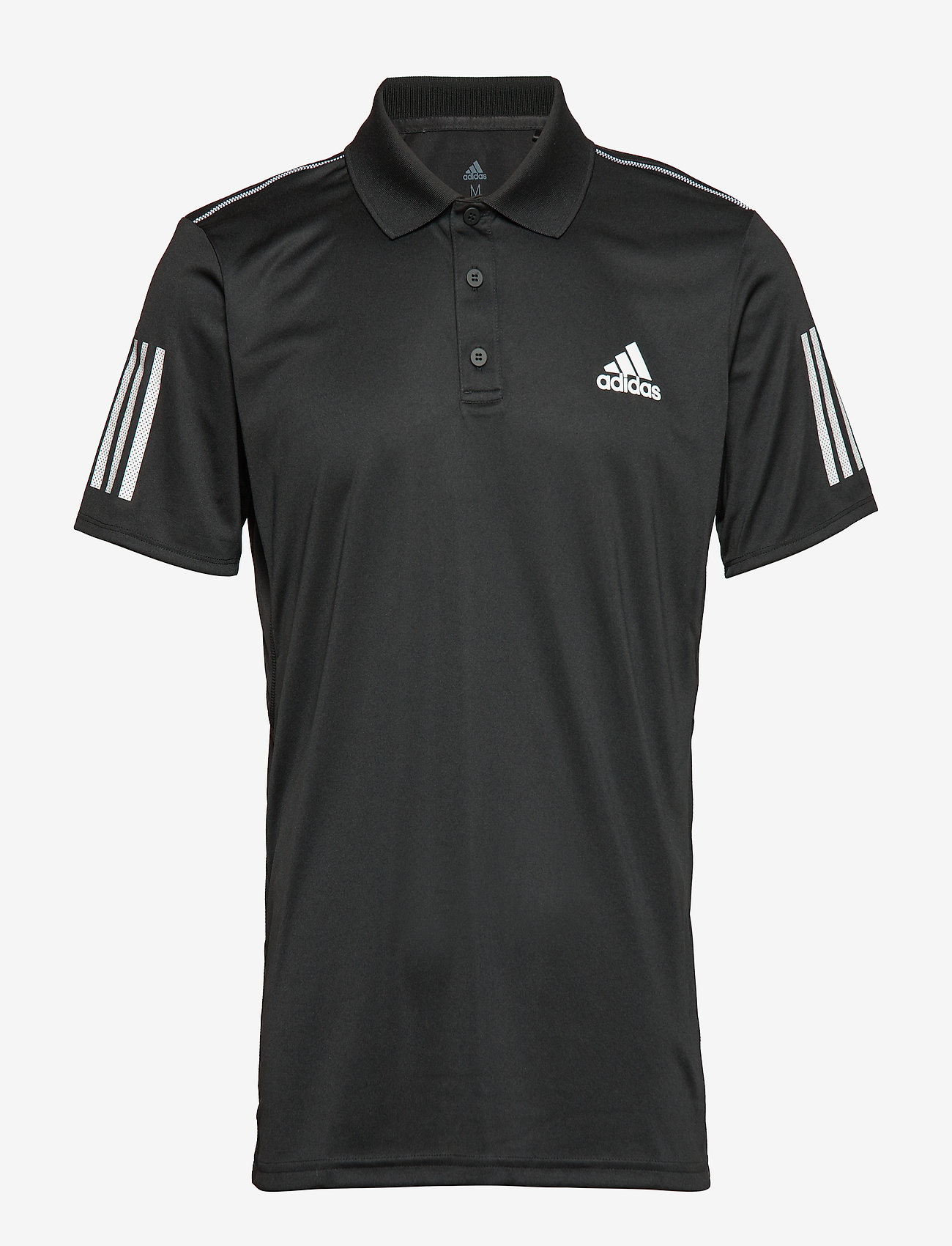 adidas Performance - 3-Stripes Club Polo Shirt - kurzärmelig - black - 1