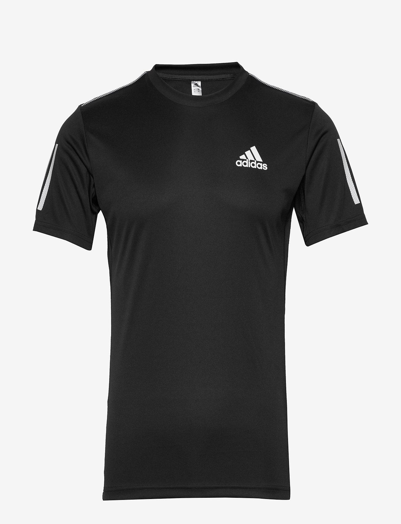 adidas Performance - 3-Stripes Club Tee - sportoberteile - black - 1