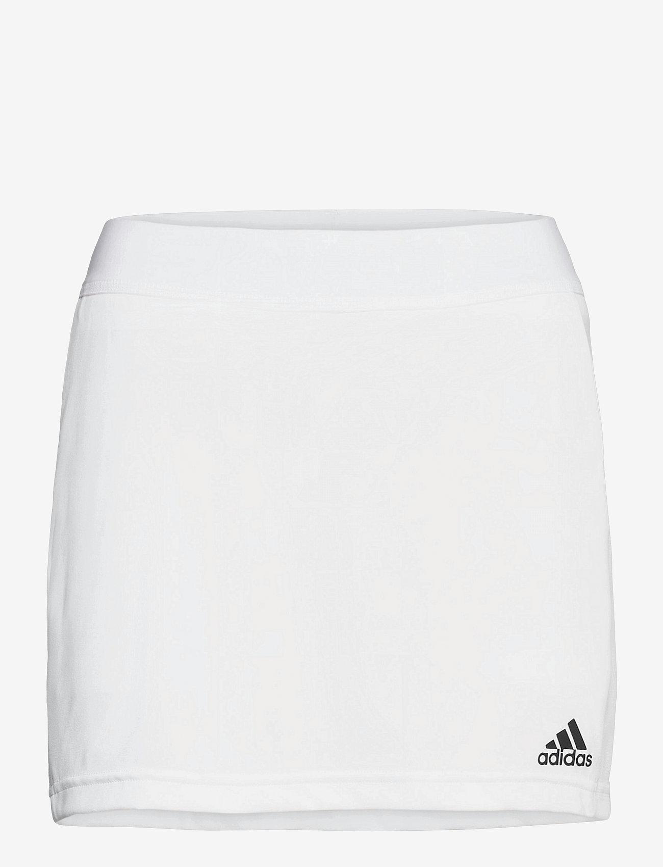 adidas Performance - Team 19 Skort W - rokjes - white - 0