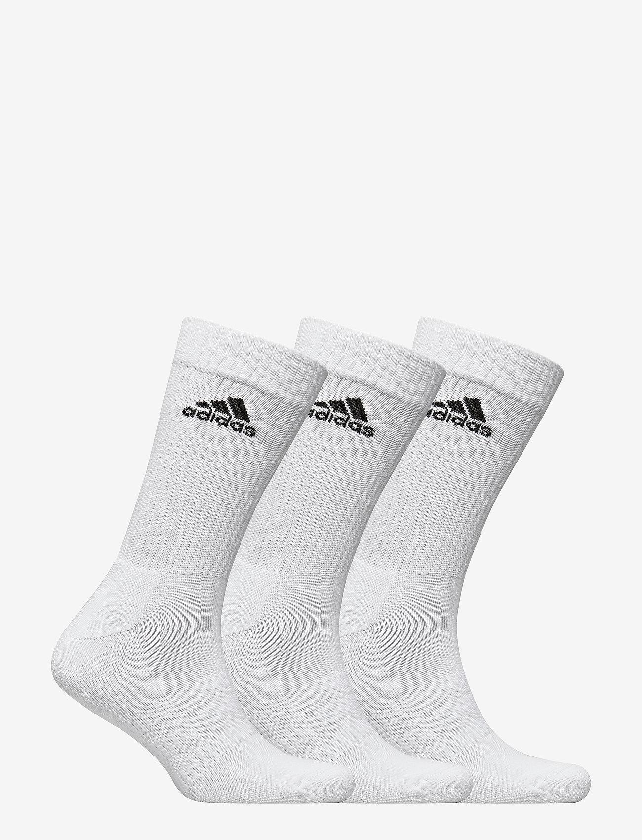 adidas Performance - Cushioned Crew Socks 3 Pairs - skarpetki - white - 1