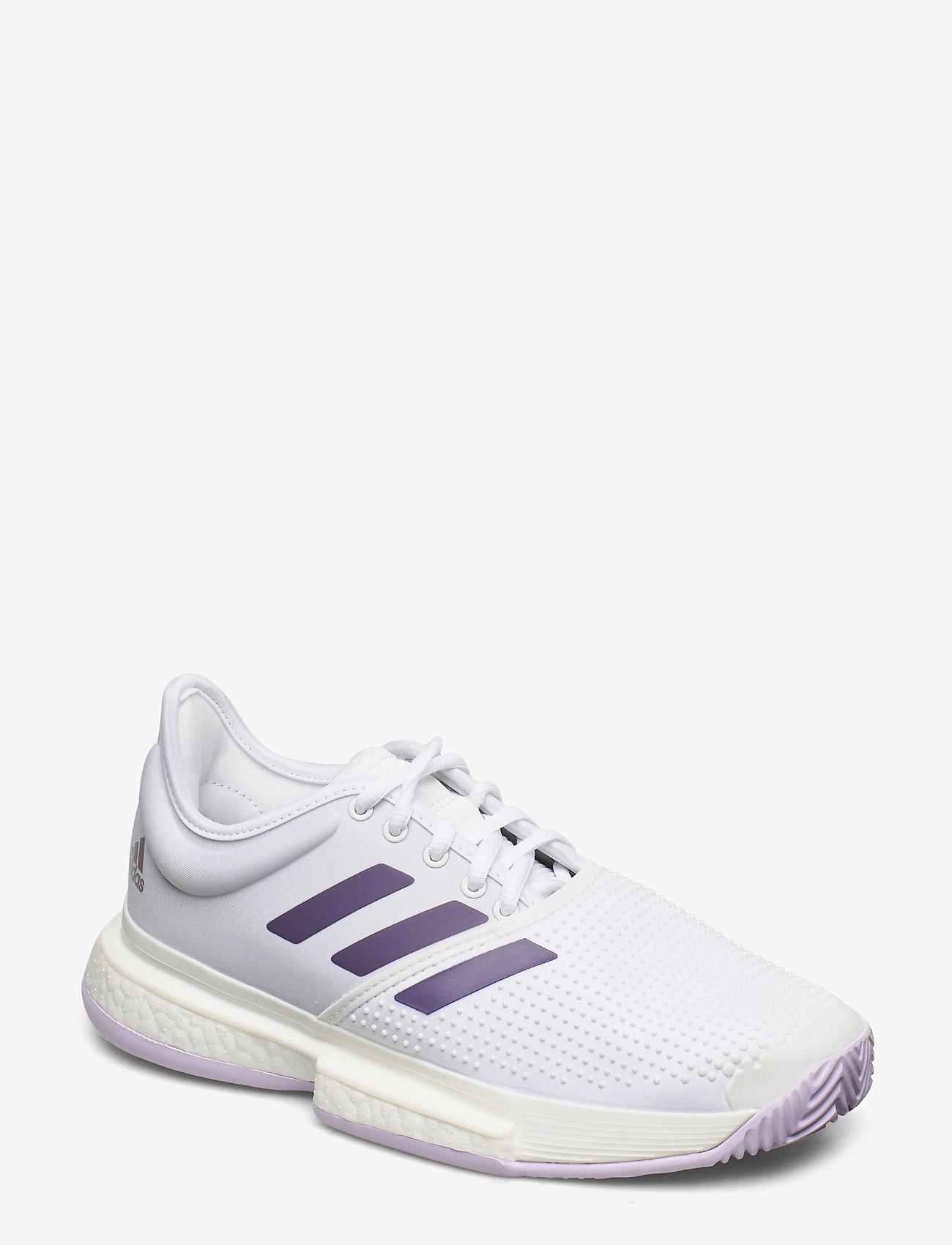 adidas Tennis - SOLECOURT W - tennisschuhe - white - 0
