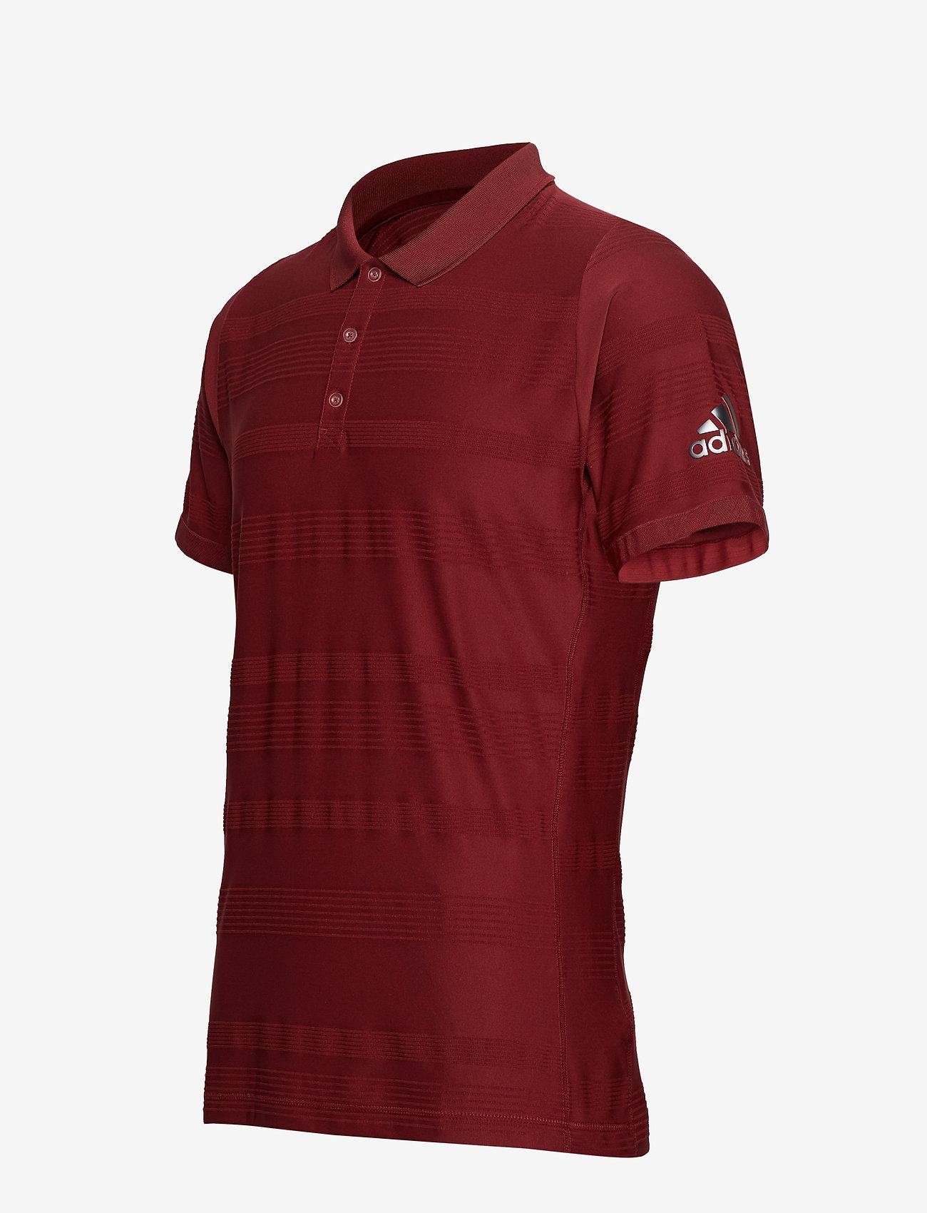 Adidas Tennis Mcode Polo - Pikéer Burgundy