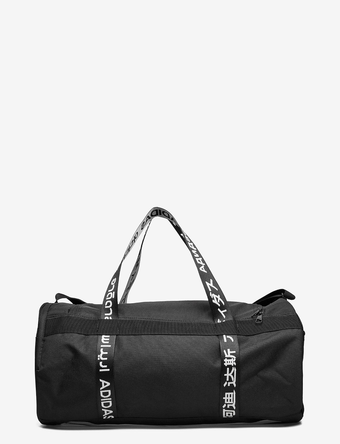 adidas Performance - 4ATHLTS Duffel Bag Medium - ketsjersporttasker - 000/black - 1