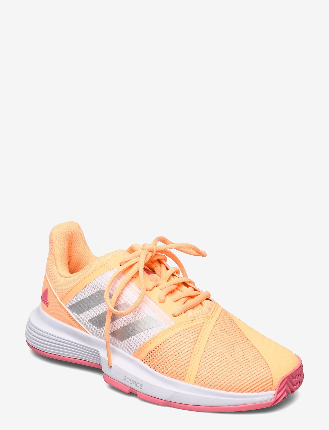 adidas Performance - CourtJam Bounce Shoes - ketsjersportsko - orange - 0