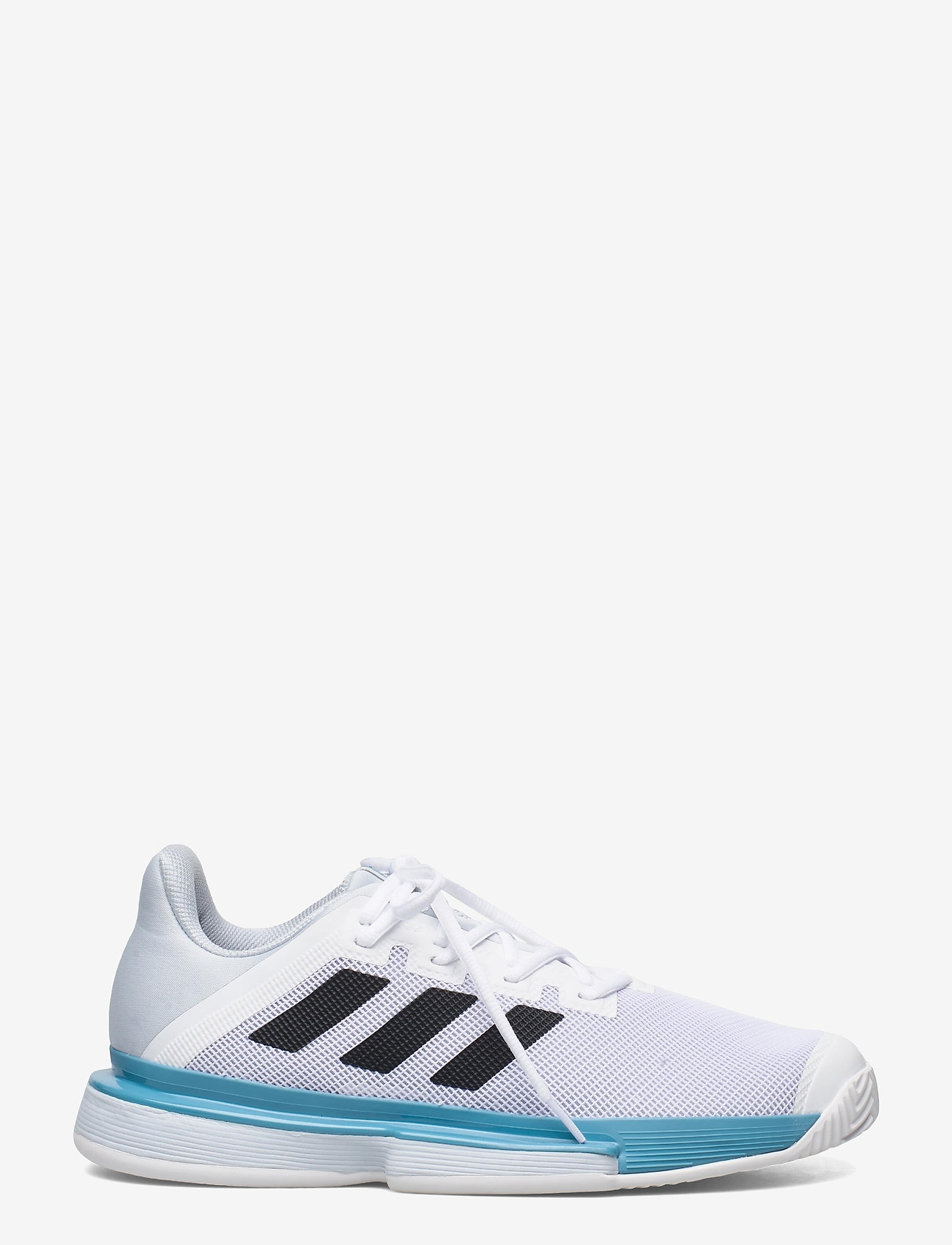 adidas Performance - SOLEMATCH BOUNCE M - ketsjersportsko - white - 1