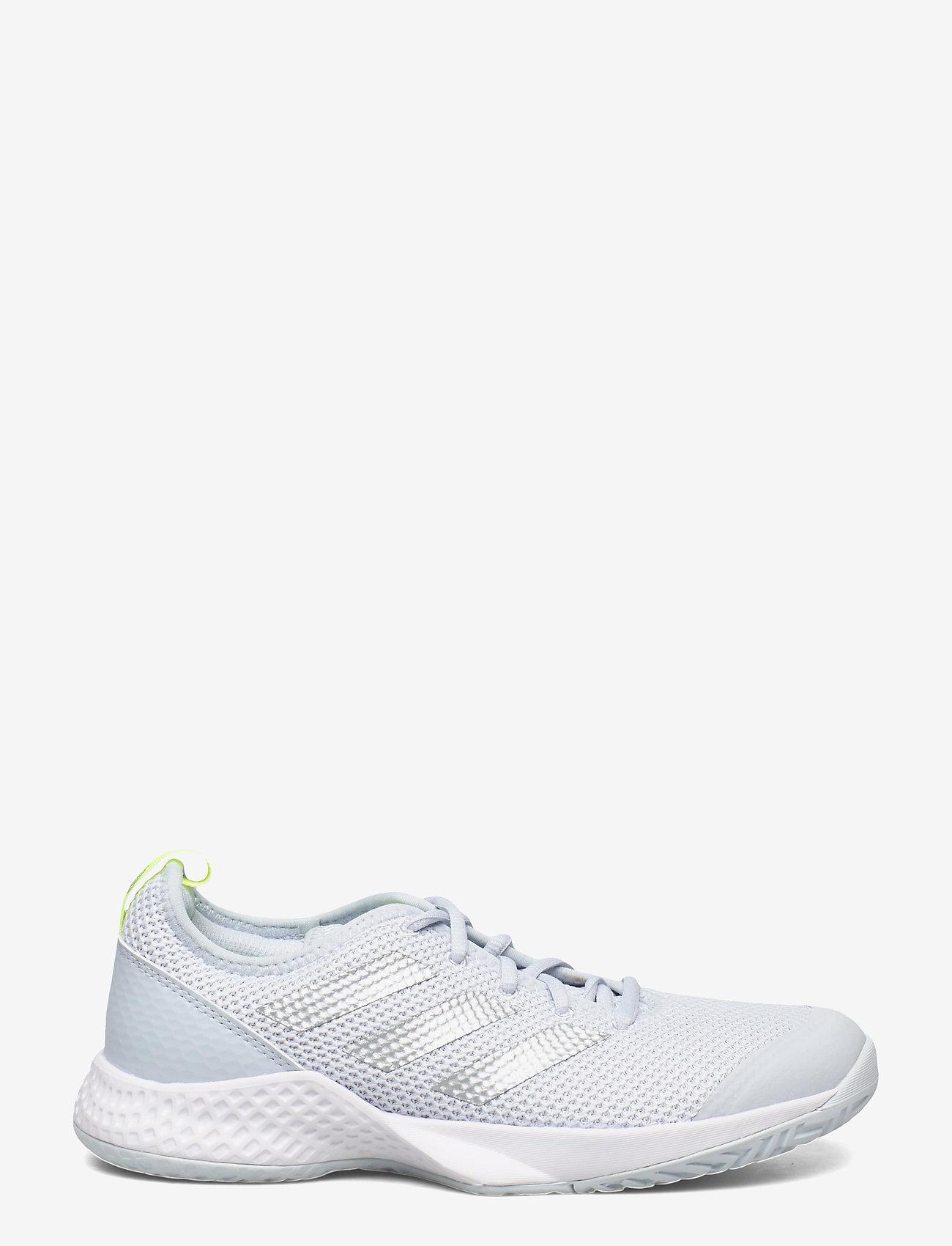 adidas Performance - Court Control Tennis Shoes - racketsportschoenen - grey - 1