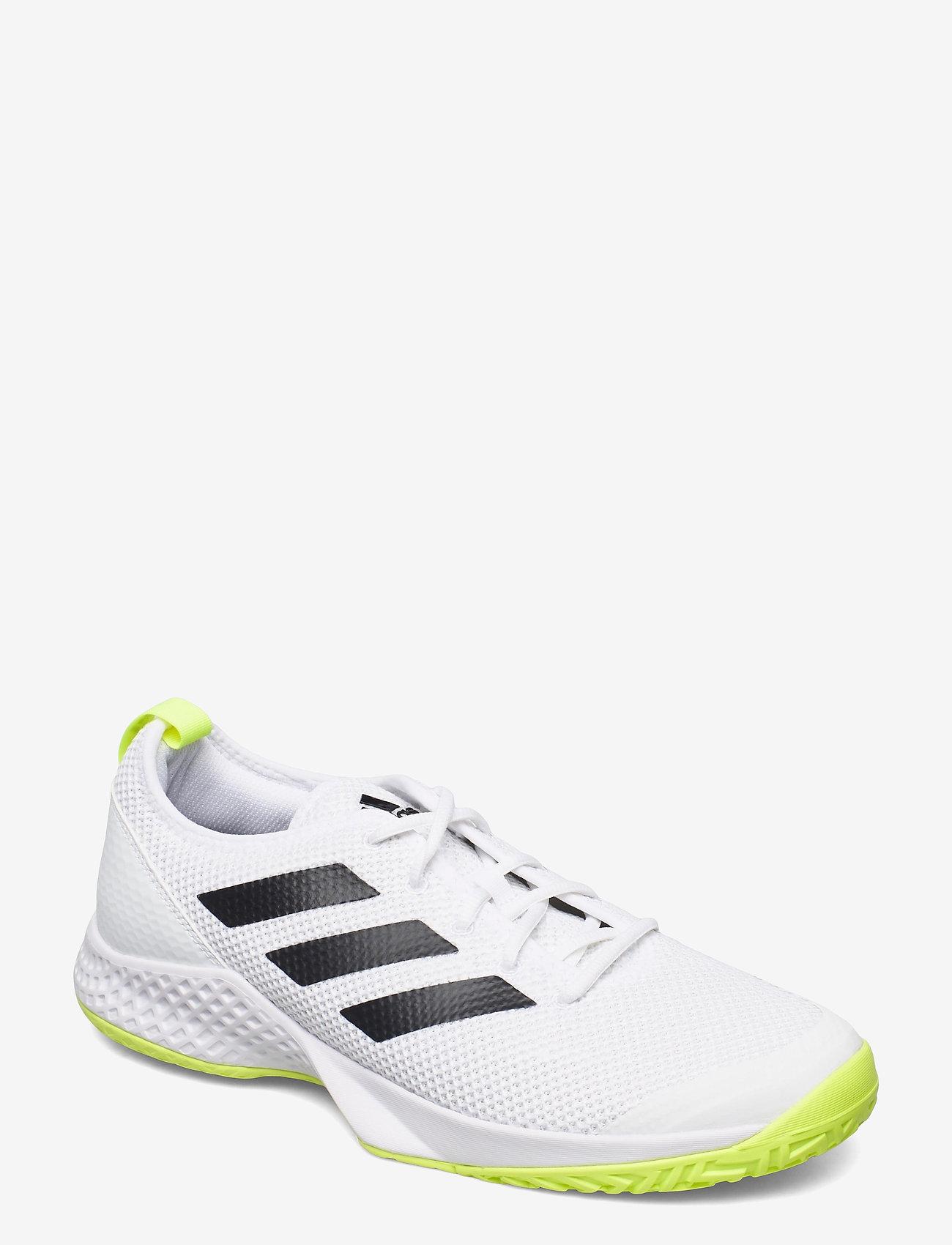 adidas Performance - COURT CONTROL M - ketsjersportsko - white - 0