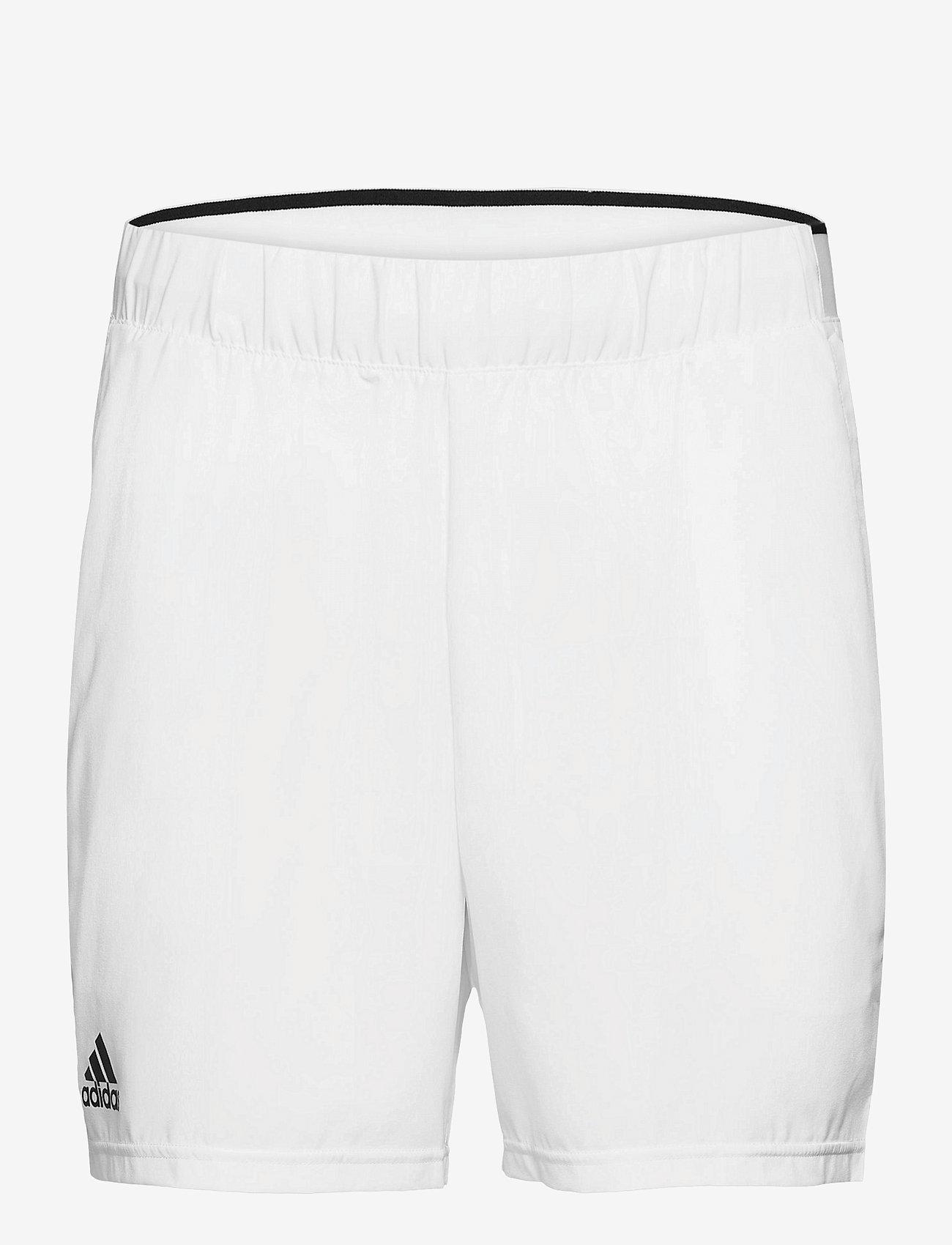 adidas Performance - CLUB STRETCH WOVEN SHORTS - trainingsshorts - white - 1