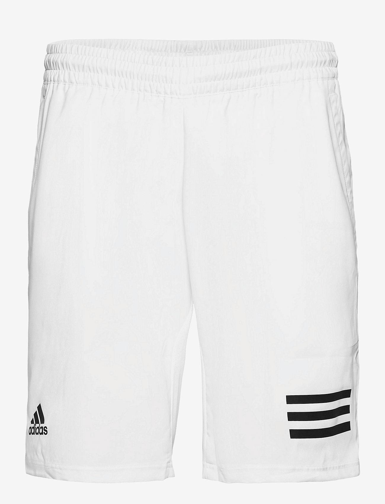 adidas Performance - CLUB 3-STRIPE SHORTS - training korte broek - 000/white - 0