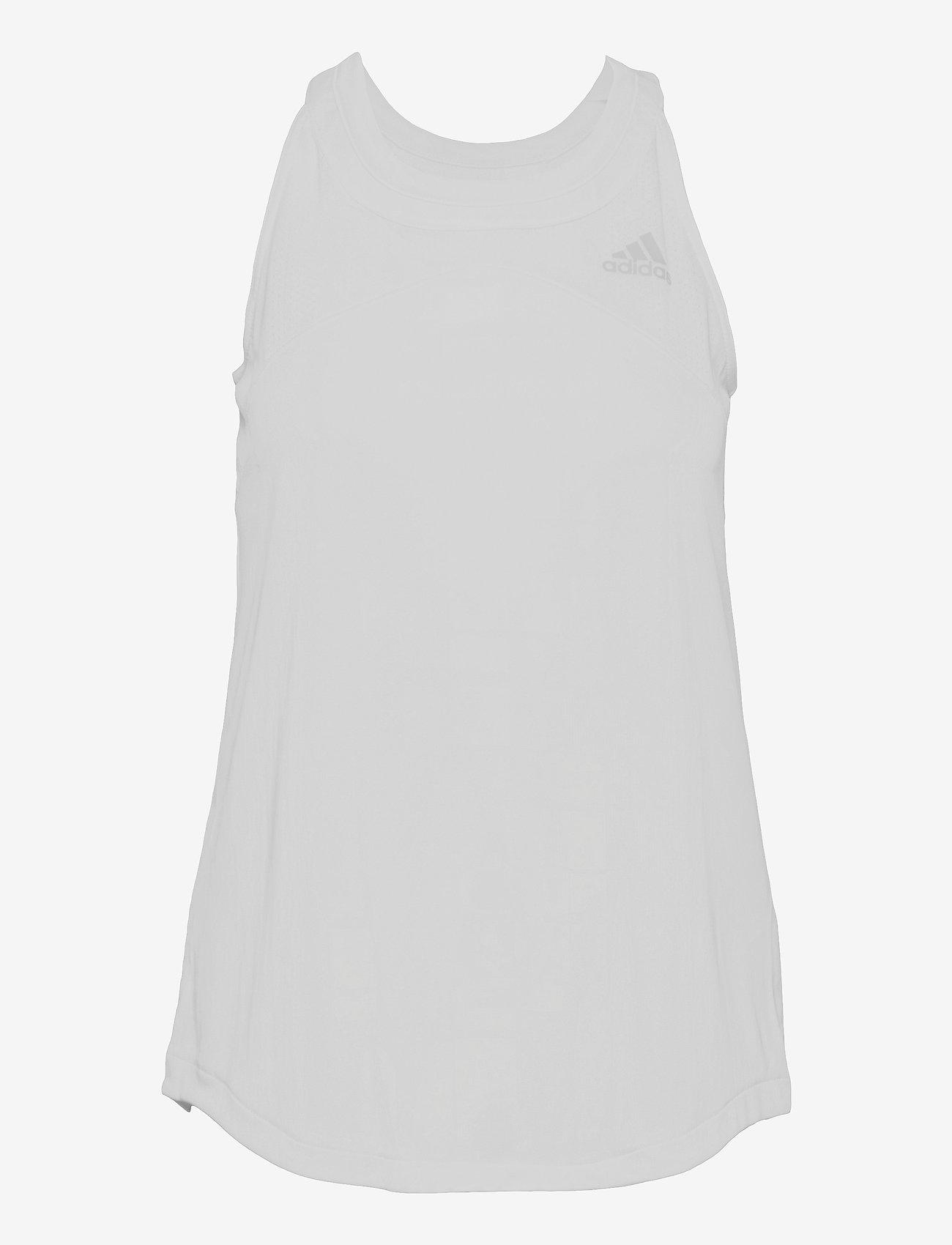 adidas Performance - Club Tennis Tank Top - linnen - white - 1