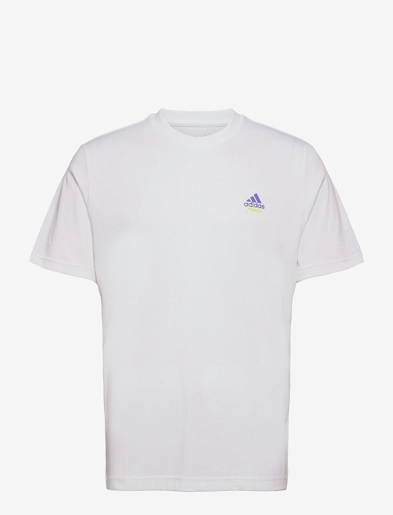 adidas Performance - M SS Q2 TEE RG - t-shirts - 000/white - 0