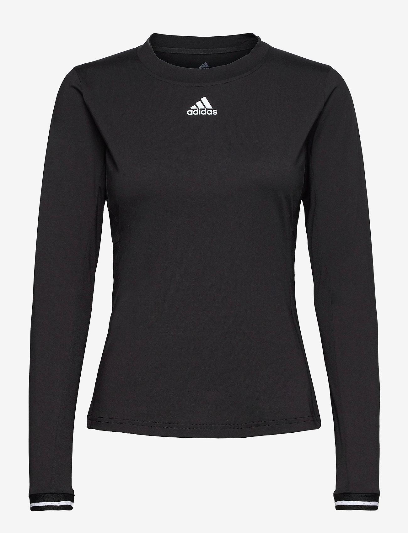adidas Performance - Tennis Freelift Long Sleeve Tee - black - 1