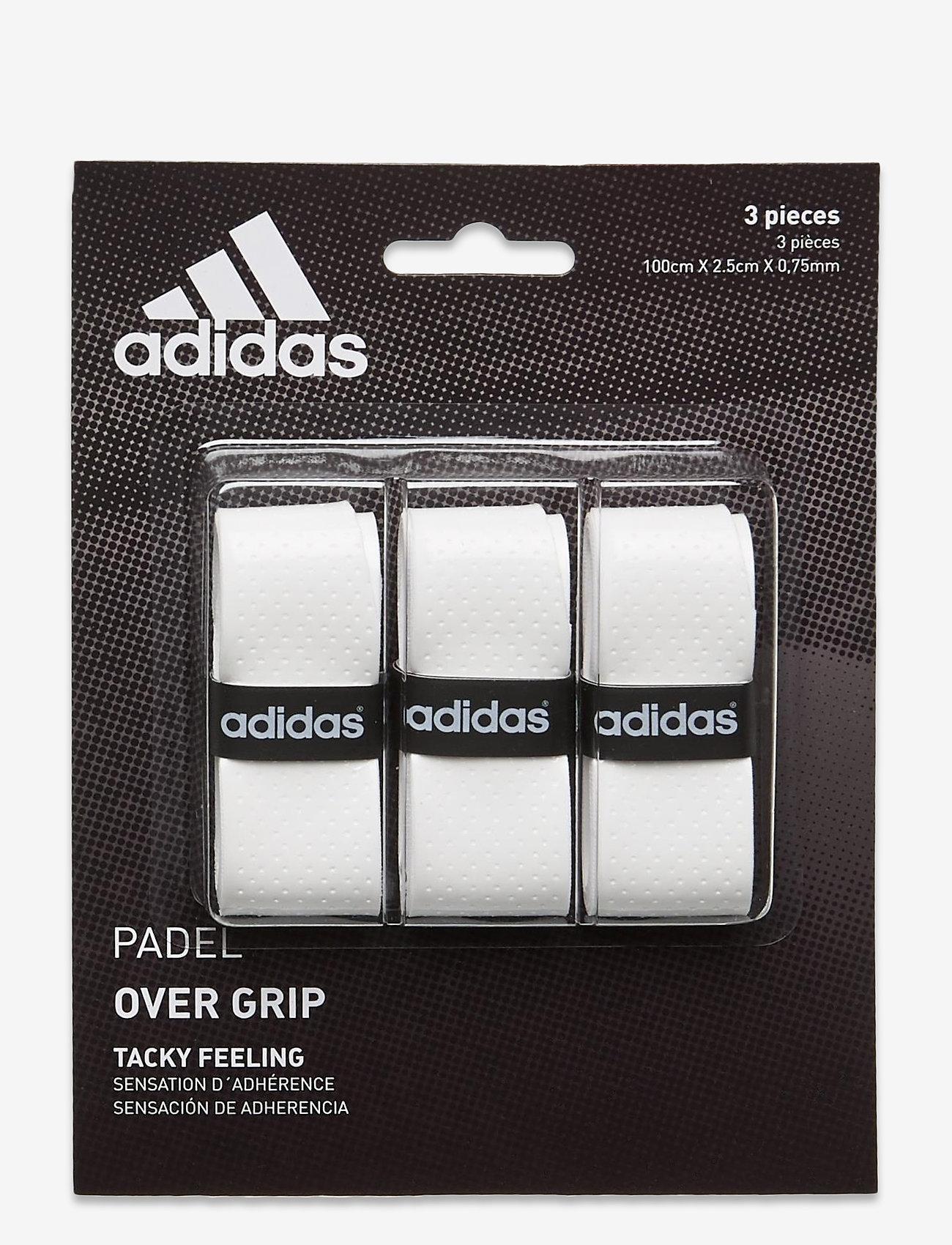 adidas Performance - Set of overgrip 3 units - ballen en accessoires - white - 0