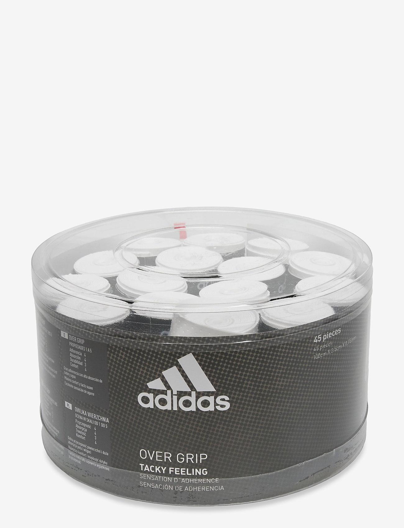 adidas Performance - Box of overgrip 45 units - ballen en accessoires - white - 0