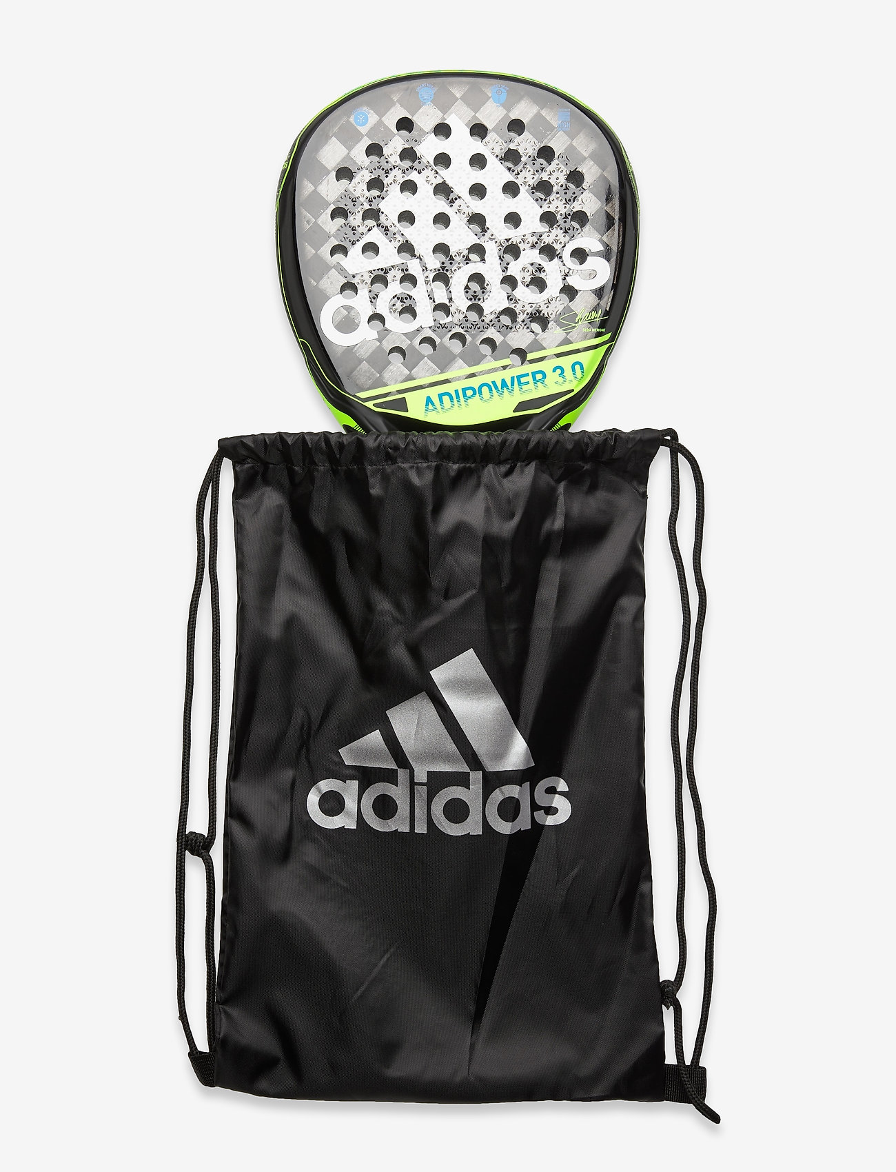 adidas Performance - adipower 3.0 - padel rackets - lime - 1