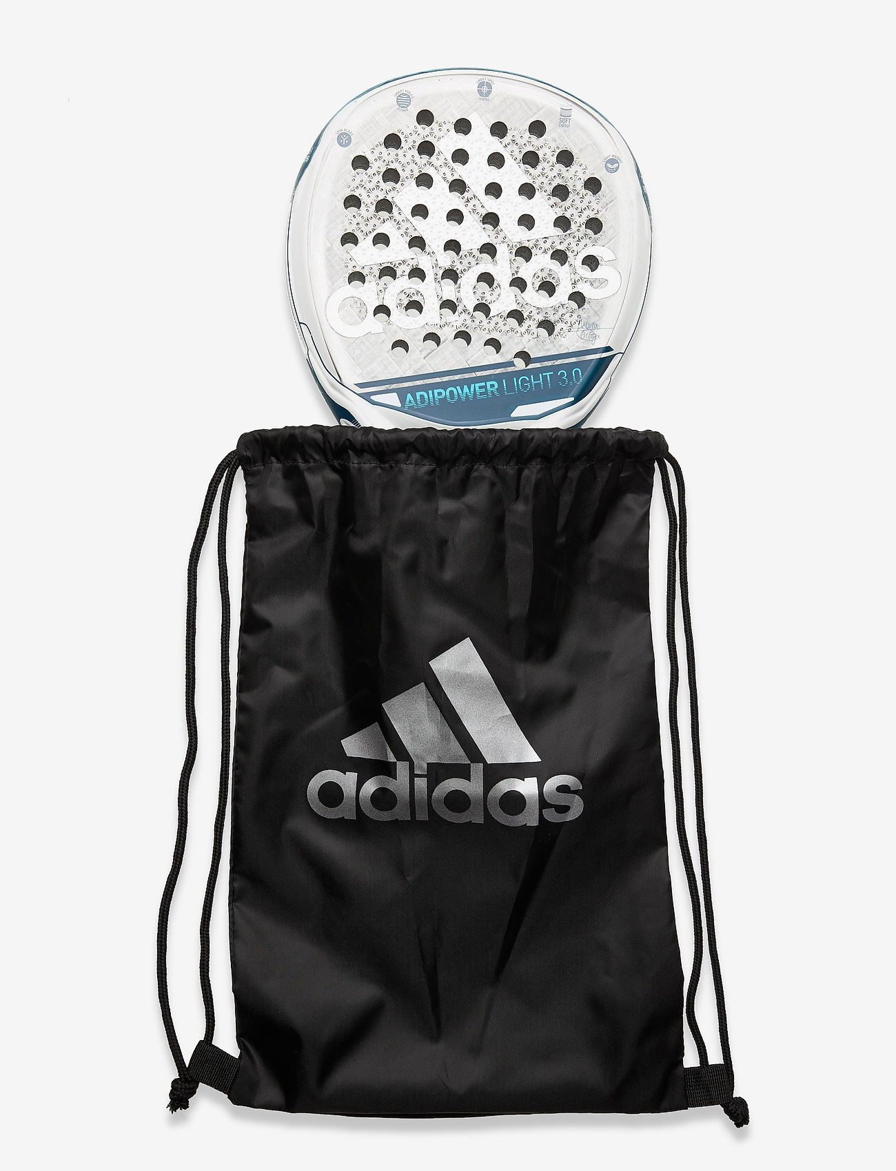 adidas Performance - adipower LIGHT 3.0 - padel rackets - blue - 1