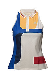 NY COLOR BLOCK TANK - 030/CHALK WHITE