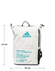 adidas Performance - Backpack MULTIGAME - racketsporttassen - white - 6