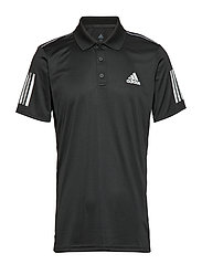 3-Stripes Club Polo Shirt - BLACK